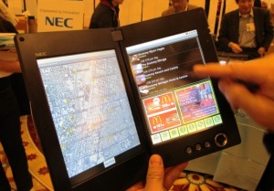 NEC's LT-W Cloud Communicator Tablet