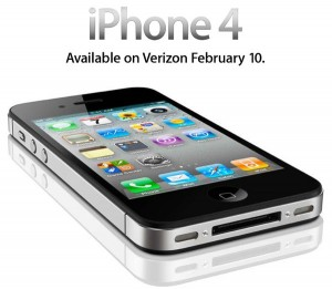 New Verizon iPhone 4 to be released Feb 10