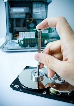 When your hard drive starts clicking, the timer starts ticking. Let it go too long and all your data can be lost.