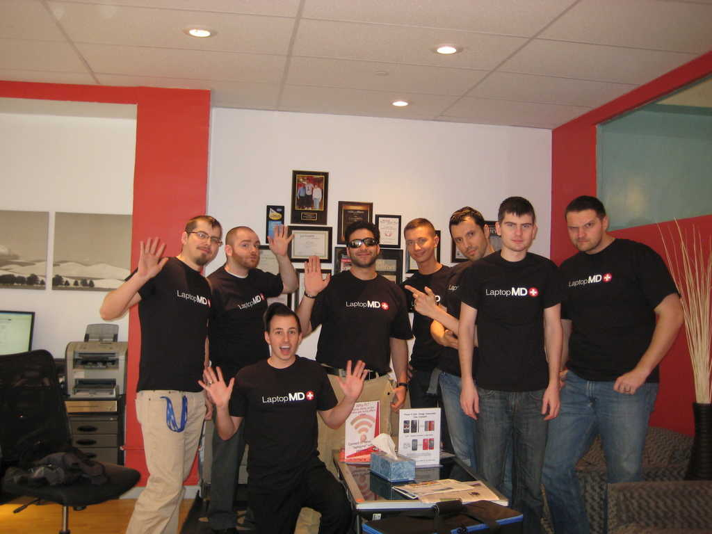 Laptop Repair NYC T-Shirts